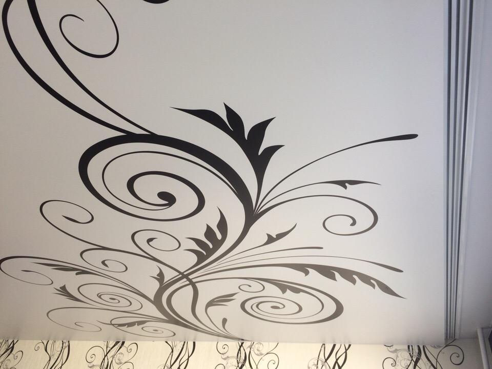 Потолок с фотопечатью ижевск